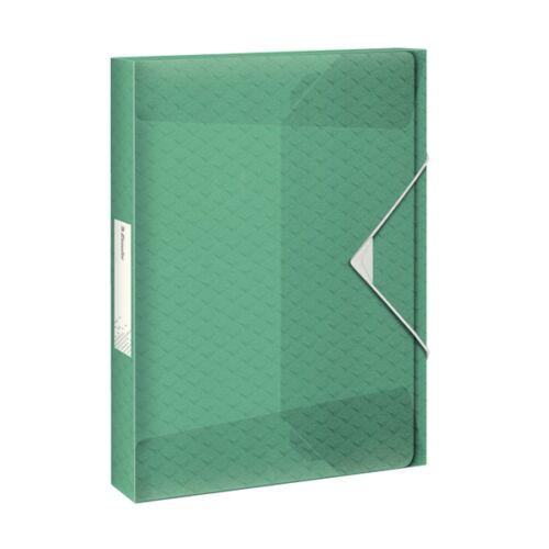 Gumis mappa ESSELTE Colour`Ice Jumbo A/4 25mm PP zöld