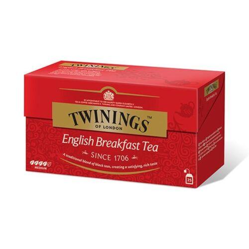 Fekete tea TWININGS English Breakfast 25x2gr