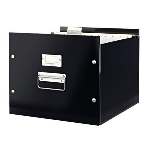 Függőmappa tartó LEITZ Click&Store fekete