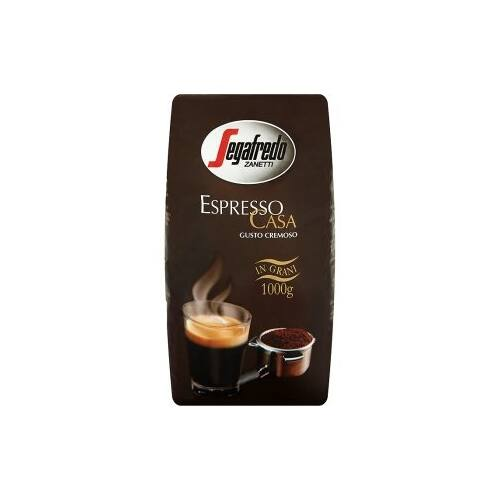 Kávé szemes SEGAFREDO Espresso Casa Crema 1000g