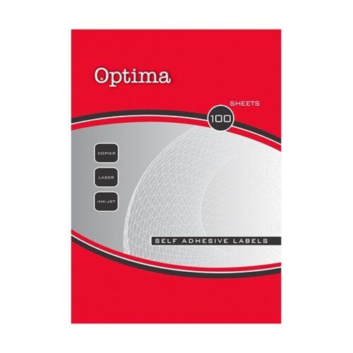 Etikett OPTIMA 32102A 17,8x10mm 27000 címke/doboz 100 ív/doboz