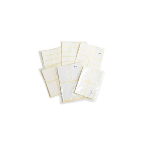 Etikett fóliás 38x20 60 címke/csomag