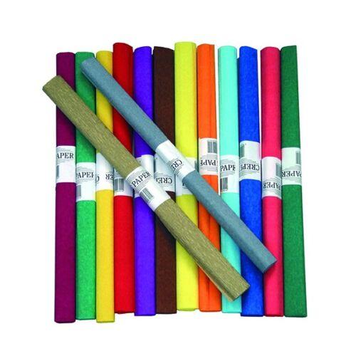 Krepp papír 50x200cm sötétzöld 24