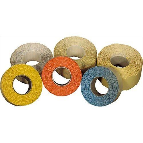 Árazószalag FORTUNA 22x12mm perforált zöld 10 tekercs/csomag