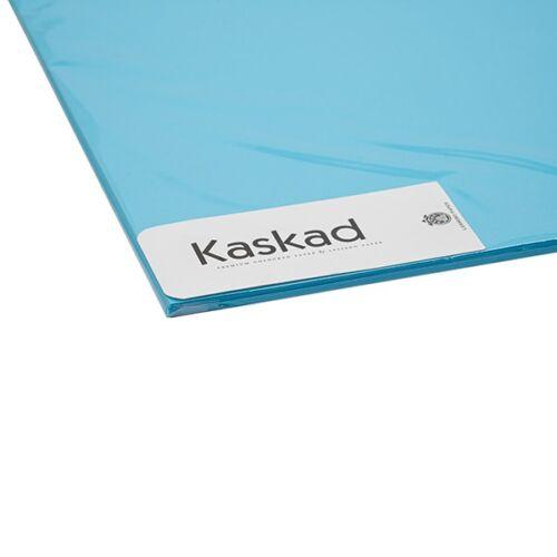 Dekorációs karton KASKAD 45x64 cm 2 oldalas 225 gr vízkék 77 100 ív/csomag