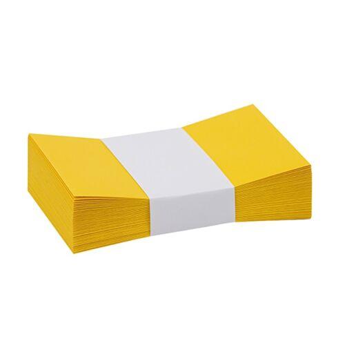 Névjegyboríték színes KASKAD enyvezett 70x105mm 56 repce sárga 50 db/csomag