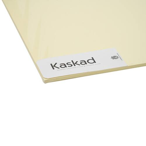 Dekorációs karton KASKAD 45x64 cm 2 oldalas 225 gr sárga 55 100 ív/csomag