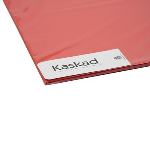 Dekorációs karton KASKAD 45x64 cm 2 oldalas 225 gr vörös 29 100 ív/csomag