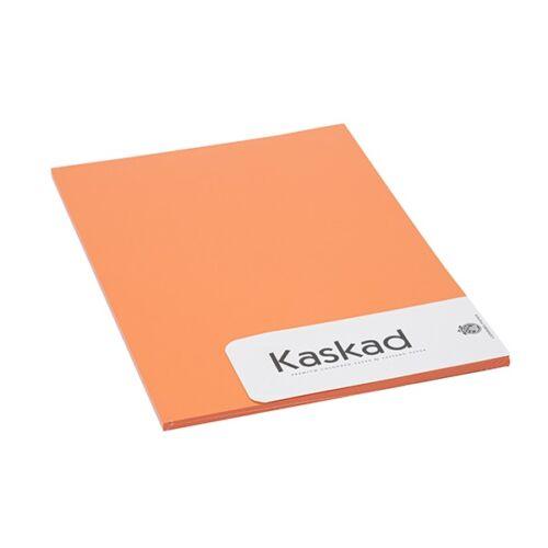 Névjegykártya karton KASKAD A/4 2 oldalas 225 gr narancs 48 20 ív/csomag