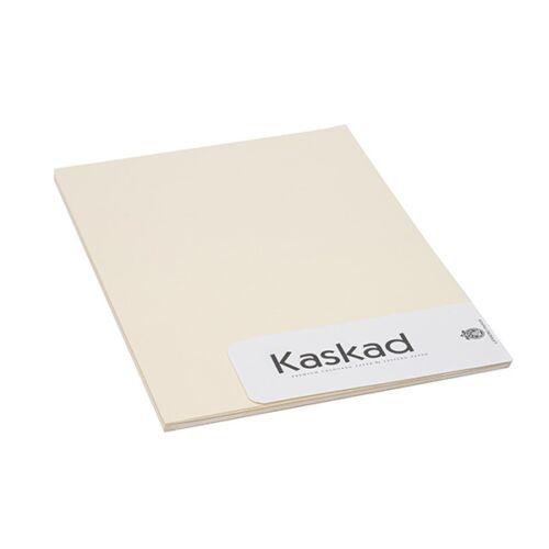Névjegykártya karton KASKAD A/4 2 oldalas 225 gr világos sárga 53 20 ív/csomag