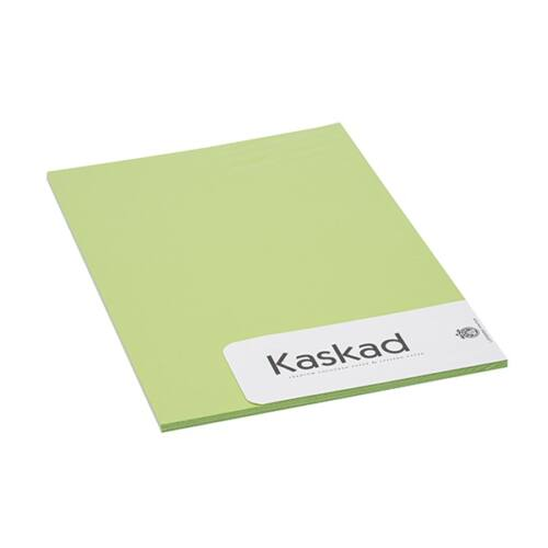 Névjegykártya karton KASKAD A/4 2 oldalas 225 gr lime zöld 66 20 ív/csomag