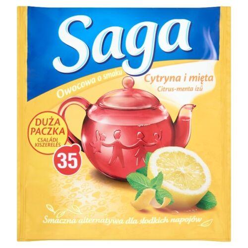 Gyümölcs tea SAGA Citrus-menta 35 filter