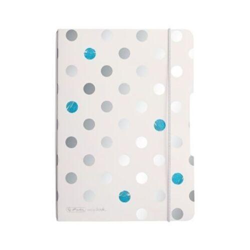 Füzet HERLITZ My book flex frozen glam A/5 40 lapos pontozott belív