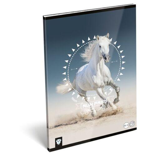 Füzet LIZZY A/4 32 lapos sima 80-32 Horse