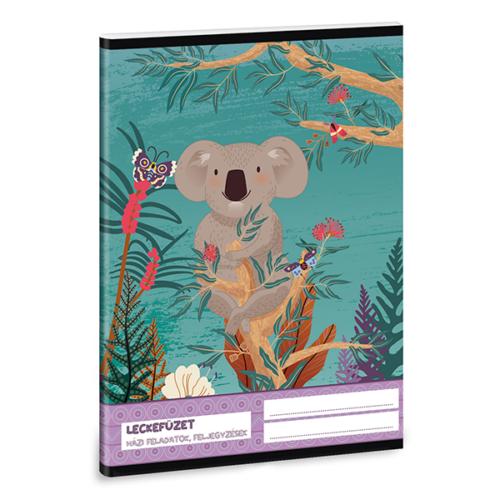Leckefüzet ARS UNA A/5 32 lapos Kirra Koala