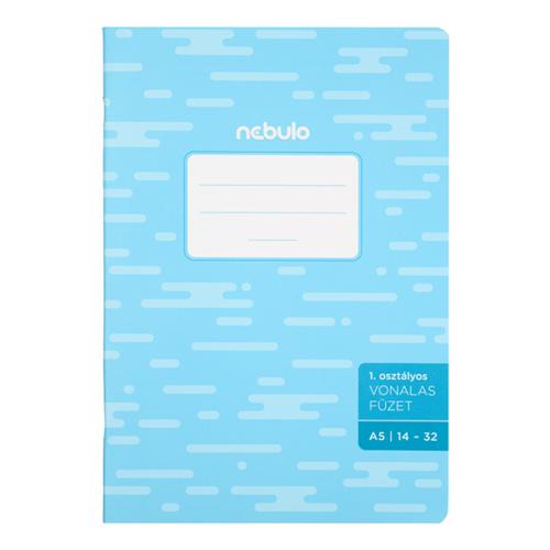 Füzet NEBULO basic+ A/5 32 lapos vonalas 14-32 I.osztályos