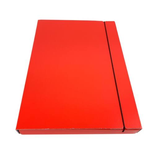 Gumis mappa FORTUNA 30 mm piros