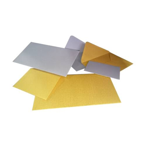 Boríték színes KASKAD LC/6 szilikonos 114x162mm 120gr arany 25/csom
