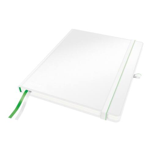 Jegyzetfüzet LEITZ Complete ipad 80 lapos vonalas fehér