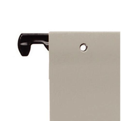 Függőmappa gyorsfűző szerkezettel LEITZ Alpha A/4 karton natúr 25 db/doboz