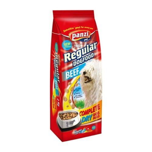 Állateledel száraz PANZI Regular felnőtt kutyáknak marhahússal  2 kg