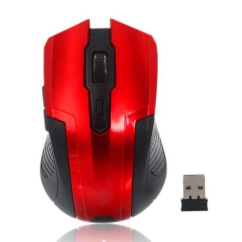Egér optikai SILVERLINE RF-107 vezeték nélküli USB piros