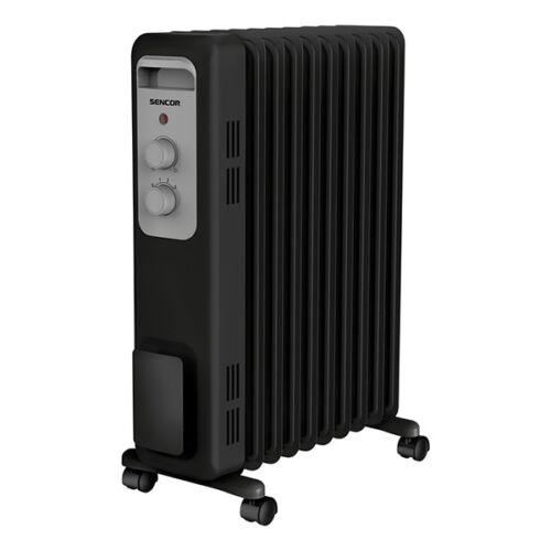Elektromos olajradiátor SENCOR SOH 3309BK 2000W 3 fokozatú fekete