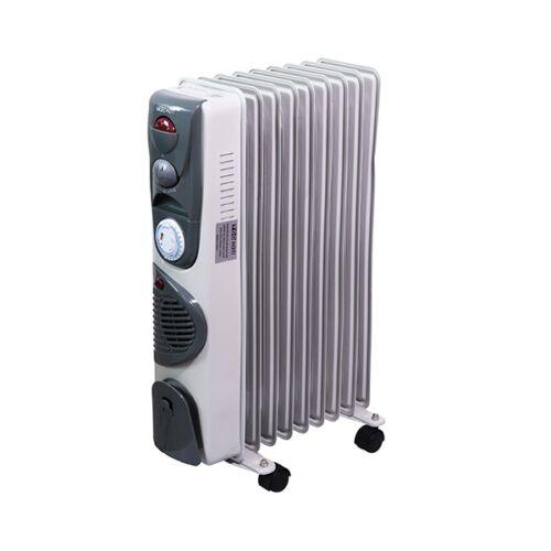 Elektromos olajradiátor TOO OFR-9-1500-343TF 1500W 2 fokozatú szürke