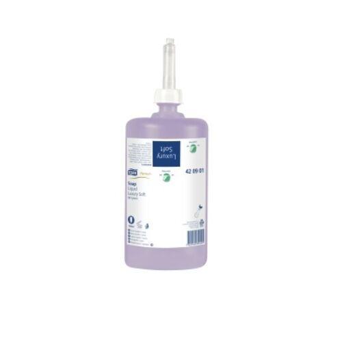 Folyékony szappan TORK Luxus Soft Premium S1 jázmin illatú 1 liter