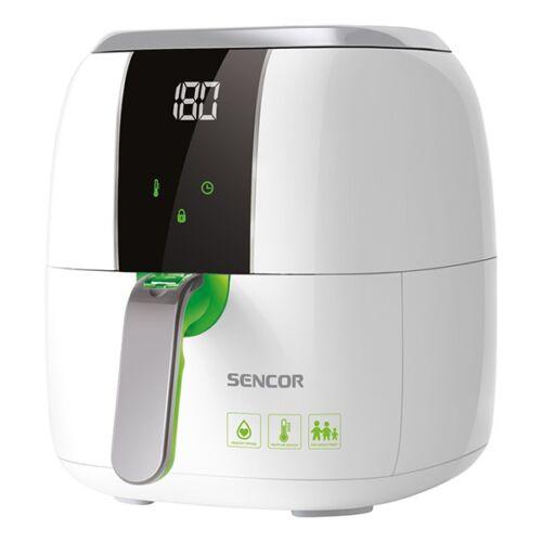 Forrólevegős fritőz SENCOR SFR 5320WH 1400W 3 liter 200 fok fehér