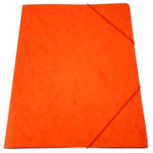 Gumis mappa prespán narancs 345gr