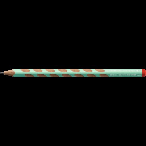 Grafitceruza STABILO Easygraph Pastel HB háromszögletű jobbkezes zöld