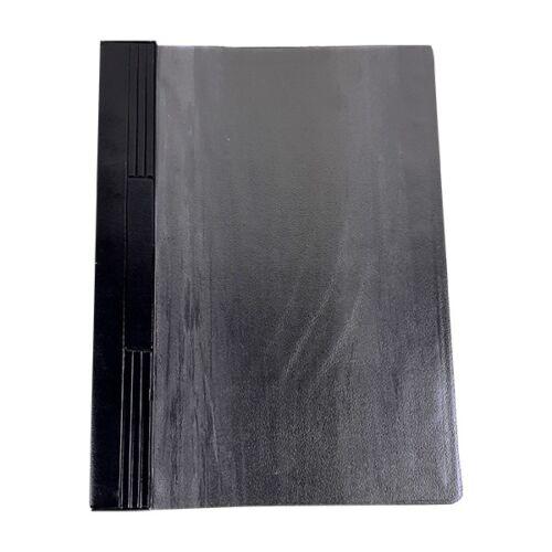Gyorsfűző FORTUNA pvc kemény fekete