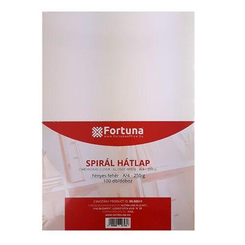 Hátlap FORTUNA A/4 230g fényes fehér 100/dob