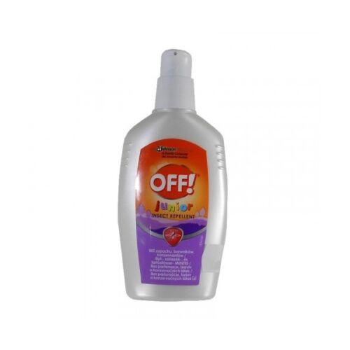 Rovarriasztó OFF! Junior szúnyog- kullancsriasztó 100 ml pumpás gél